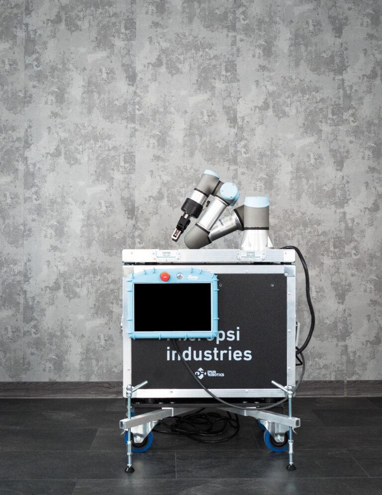 integracja stanowisk z robotami