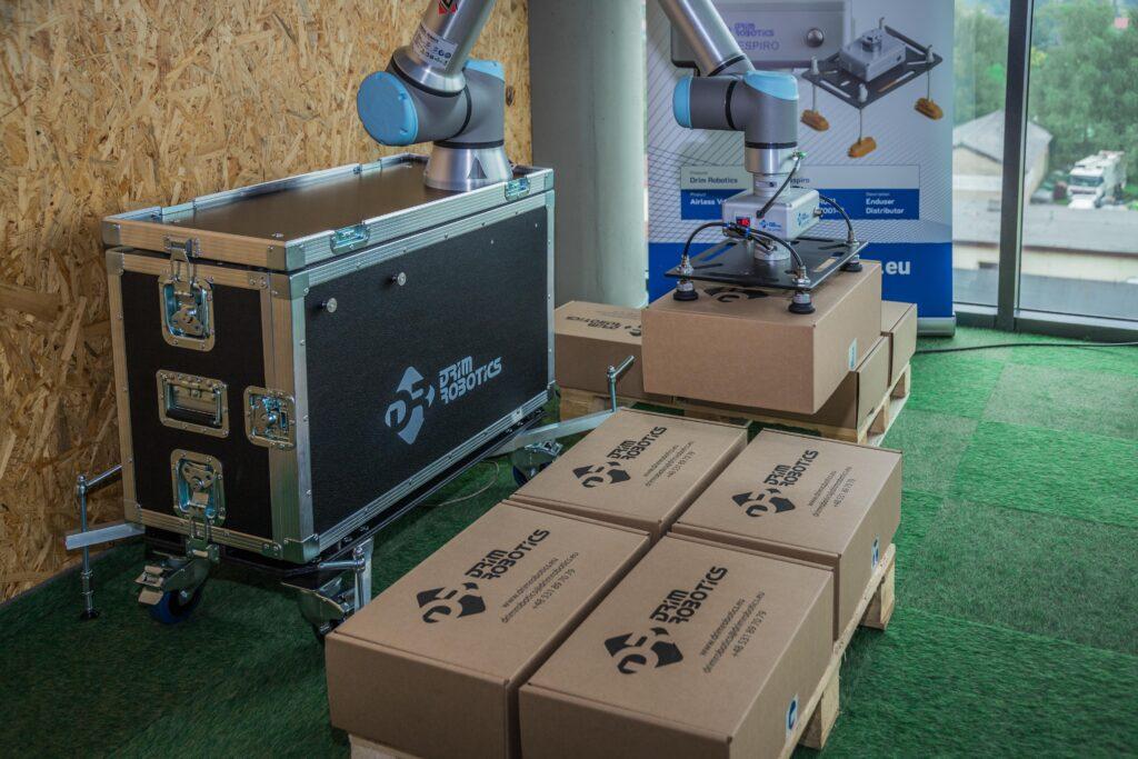automatyzacja linii produkcyjnych paletyzacja